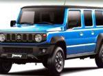 Пятидверный Suzuki Jimny: известны новые подробности