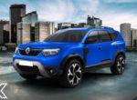 Семиместный Renault Duster: новые изображения