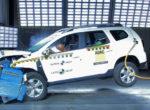 Новый Renault Duster провалил краш-тесты NCAP (Фото)
