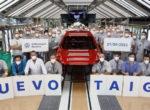 Volkswagen запустил производство кроссовера Taigo в Испании