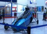 В Китае дебютировал новый летающий автомобиль Pegasus с вертикальным взлетом (Фото)