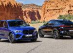 BMW выпустила новые мощные кроссоверы Х5 М и Х6 М (Фото)