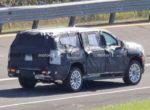 Новый Cadillac Escalade заметили на тестах (Фото)