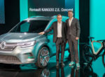 Renault показала на видео электрический Kangoo